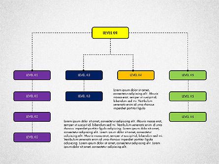 Organizational Chart Toolbox, Slide 5, 03308, Organizational Charts — PoweredTemplate.com