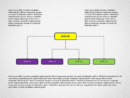 Organizational Chart Toolbox, Slide 6, 03308, Organizational Charts — PoweredTemplate.com