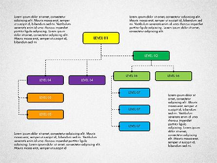 Organizational Chart Toolbox, Slide 7, 03308, Organizational Charts — PoweredTemplate.com