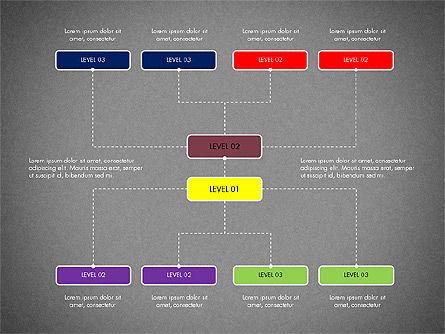 Organizational Chart Toolbox, Slide 9, 03308, Organizational Charts — PoweredTemplate.com