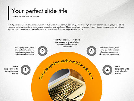 Presentation Templates: Corporate Style Presentation Concept #03311