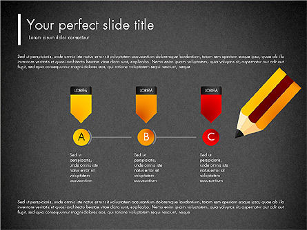 Corporate Style Presentation Concept, Slide 12, 03311, Presentation Templates — PoweredTemplate.com