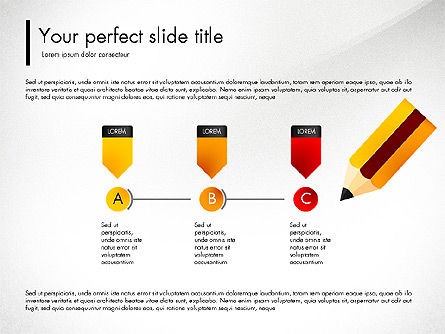 Corporate Style Presentation Concept, Slide 4, 03311, Presentation Templates — PoweredTemplate.com