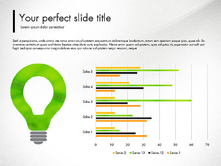 Green Presentation Concept with Data Driven