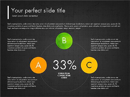 Green Presentation Concept with Data Driven, Slide 11, 03312, Presentation Templates — PoweredTemplate.com
