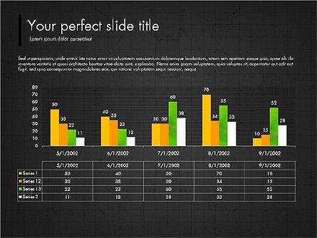 Green Presentation Concept with Data Driven, Slide 12, 03312, Presentation Templates — PoweredTemplate.com