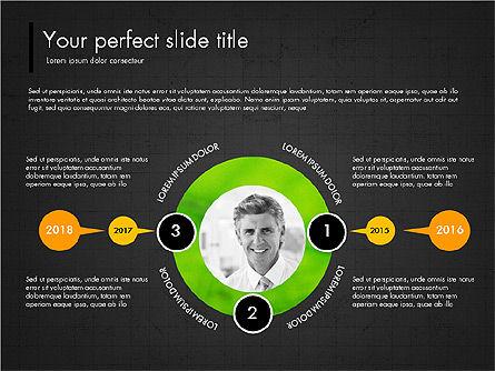 Green Presentation Concept with Data Driven, Slide 13, 03312, Presentation Templates — PoweredTemplate.com