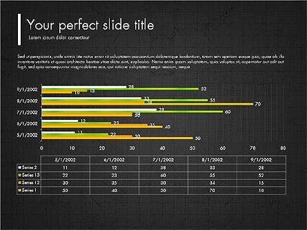 Green Presentation Concept with Data Driven, Slide 15, 03312, Presentation Templates — PoweredTemplate.com