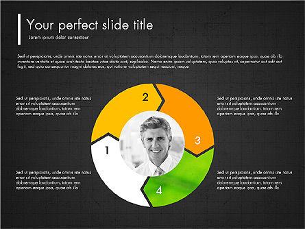 Green Presentation Concept with Data Driven, Slide 16, 03312, Presentation Templates — PoweredTemplate.com