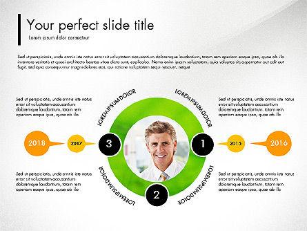 Green Presentation Concept with Data Driven, Slide 5, 03312, Presentation Templates — PoweredTemplate.com