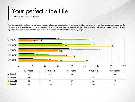 Green Presentation Concept with Data Driven, Slide 7, 03312, Presentation Templates — PoweredTemplate.com
