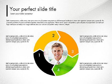 Green Presentation Concept with Data Driven, Slide 8, 03312, Presentation Templates — PoweredTemplate.com