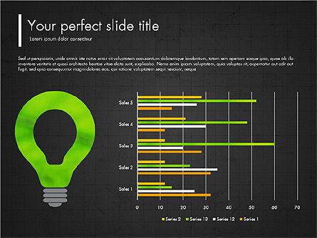 Green Presentation Concept with Data Driven, Slide 9, 03312, Presentation Templates — PoweredTemplate.com