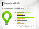 Presentation Templates: Green Presentation Concept with Data Driven #03312
