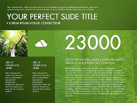 Green Infographics, Slide 11, 03315, Infographics — PoweredTemplate.com