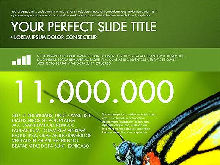Green Infographics, Slide 12, 03315, Infographics — PoweredTemplate.com