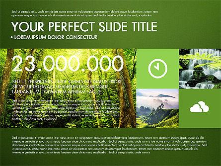 Green Infographics, Slide 14, 03315, Infographics — PoweredTemplate.com