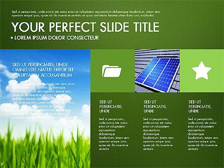Green Infographics, Slide 15, 03315, Infographics — PoweredTemplate.com