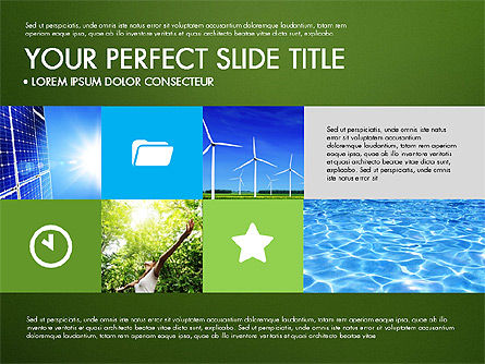 Green Infographics, Slide 16, 03315, Infographics — PoweredTemplate.com