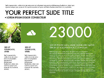Green Infographics, Slide 3, 03315, Infographics — PoweredTemplate.com