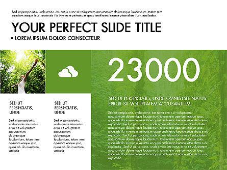 Green Infographics Slide 3
