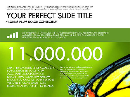 Green Infographics, Slide 4, 03315, Infographics — PoweredTemplate.com