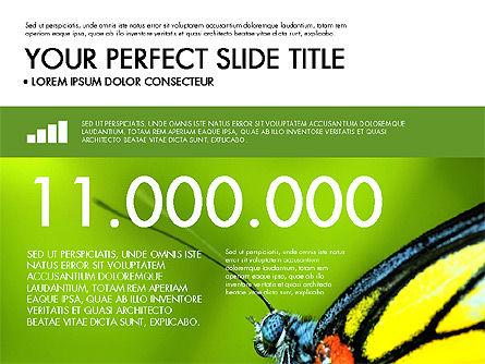 Green Infographics Slide 4