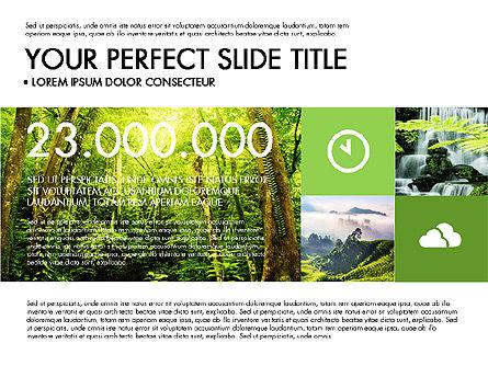 Green Infographics, Slide 6, 03315, Infographics — PoweredTemplate.com