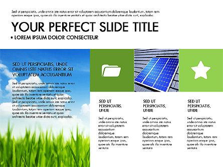 Green Infographics, Slide 7, 03315, Infographics — PoweredTemplate.com