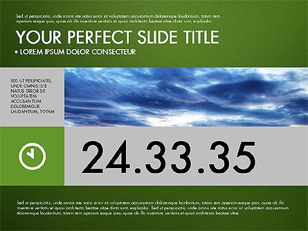 Green Infographics, Slide 9, 03315, Infographics — PoweredTemplate.com