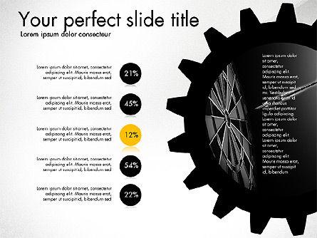 Cogwheel Gears Presentation Concept, Slide 3, 03317, Presentation Templates — PoweredTemplate.com