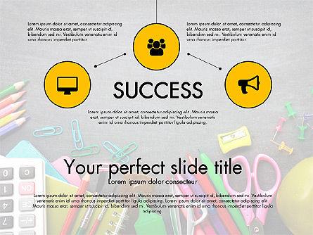 Office Supply Presentation Concept, Slide 14, 03320, Presentation Templates — PoweredTemplate.com