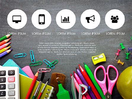 Office Supply Presentation Concept, Slide 2, 03320, Presentation Templates — PoweredTemplate.com
