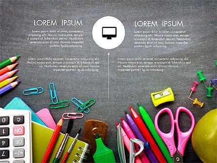 Office Supply Presentation Concept, Slide 3, 03320, Presentation Templates — PoweredTemplate.com