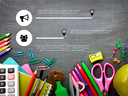 Office Supply Presentation Concept, Slide 7, 03320, Presentation Templates — PoweredTemplate.com