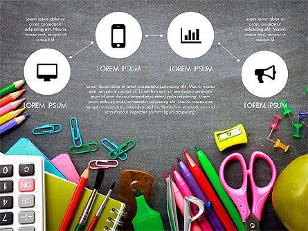 Office Supply Presentation Concept, Slide 8, 03320, Presentation Templates — PoweredTemplate.com