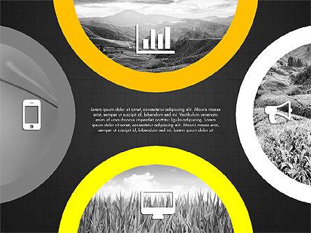 Rounded Presentation Concept, Slide 10, 03321, Shapes — PoweredTemplate.com