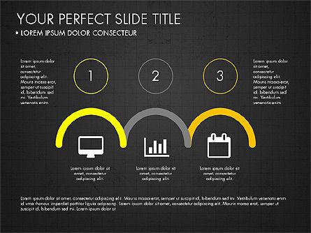 Rounded Presentation Concept, Slide 11, 03321, Shapes — PoweredTemplate.com