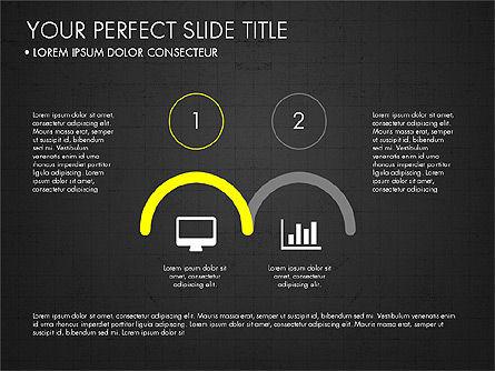 Rounded Presentation Concept, Slide 13, 03321, Shapes — PoweredTemplate.com