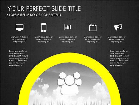 Rounded Presentation Concept, Slide 14, 03321, Shapes — PoweredTemplate.com