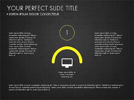 Rounded Presentation Concept, Slide 15, 03321, Shapes — PoweredTemplate.com