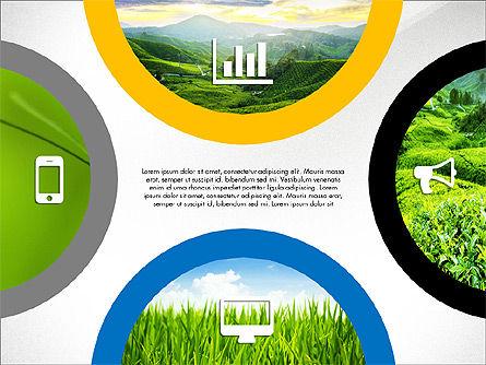 Rounded Presentation Concept, Slide 2, 03321, Shapes — PoweredTemplate.com
