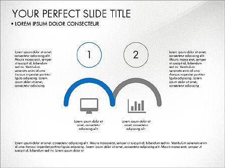 Rounded Presentation Concept, Slide 5, 03321, Shapes — PoweredTemplate.com