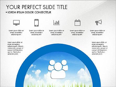 Rounded Presentation Concept, Slide 6, 03321, Shapes — PoweredTemplate.com