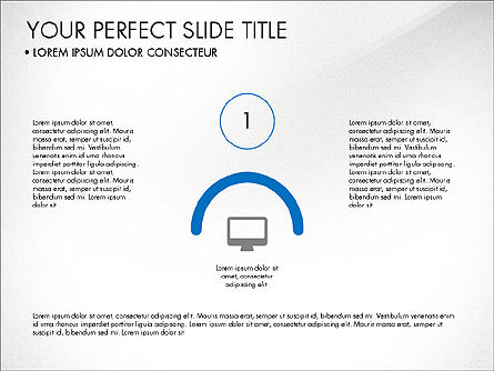 Rounded Presentation Concept, Slide 7, 03321, Shapes — PoweredTemplate.com