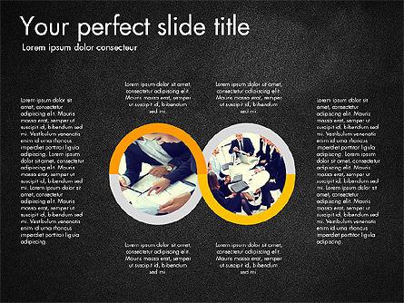 Four Step Process Presentation Concept, Slide 13, 03322, Process Diagrams — PoweredTemplate.com
