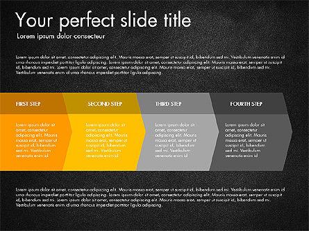 Four Step Process Presentation Concept, Slide 16, 03322, Process Diagrams — PoweredTemplate.com