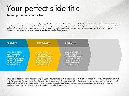 Four Step Process Presentation Concept, Slide 6, 03322, Process Diagrams — PoweredTemplate.com