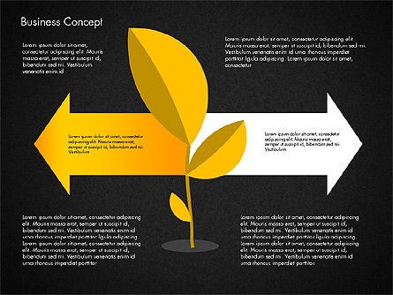 Growth Process Concept Diagram, Slide 10, 03323, Process Diagrams — PoweredTemplate.com