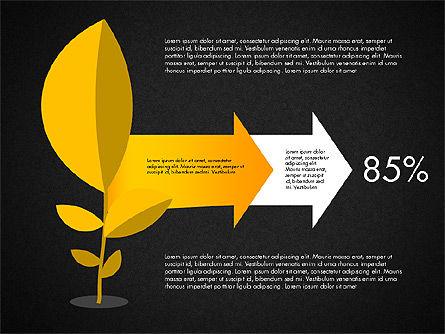 Growth Process Concept Diagram, Slide 12, 03323, Process Diagrams — PoweredTemplate.com